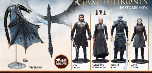 Available Now in Stores Nationwide! To celebrate the final season of the worldwide hit HBO® series Game of Thrones®, McFarlane Toys' Game of Thrones action figures and dragons have hit […]