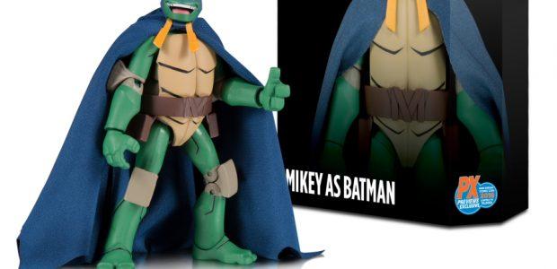 Dc Collectibles Batman Vs Teenage Mutant Ninja Turtles Batman As Mikey Previews Exclusive