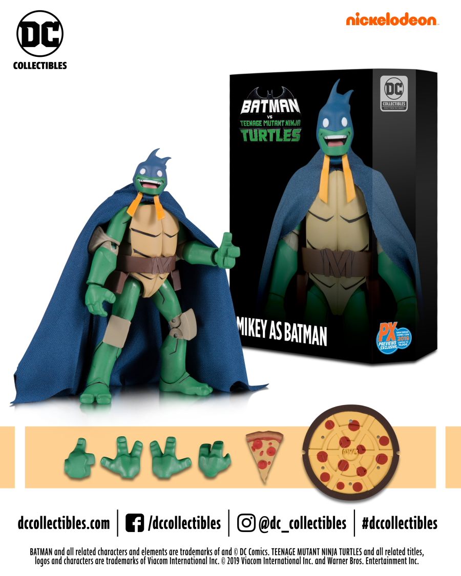 Dc Collectibles Batman Vs Teenage Mutant Ninja Turtles Batman