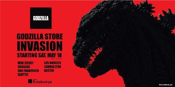 2019 Toho x Kinokuniya GODZILLA STORE INVASION A Godzilla Pop Up Shop With the highly anticipated release of GODZILLA: KING OF THE MONSTERS on May 31st, several Kinokuniya stores across […]