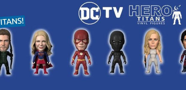 Featuring leading characters from DC Comics/Warner Bros Entertainment's wildly popular CW superhero shows! Titan Merchandise is delighted to announce the October 2019 launch of our all-new 3″ window-boxed DC TV […]