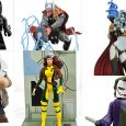 This week is a toy-tastic week at comic shops, as Diamond Select Toys unleashes six new items, from three comic-book universes!