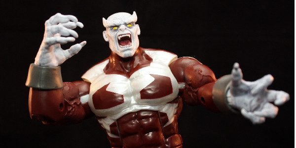 Caliban is the Build-A-Figure in the new Marvel Legends X-Men wave