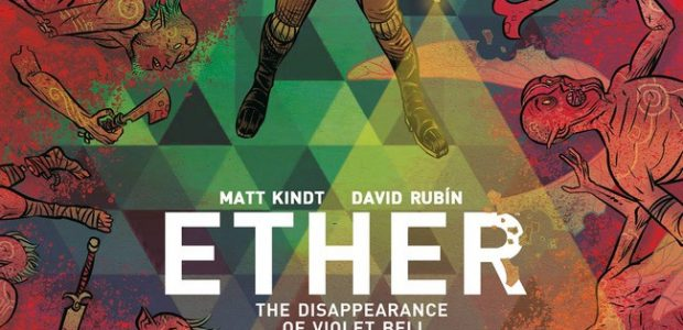 "The Adventures of Boone Dias Continue in ""Ether: The Disappearance of Violet Bell"" From New York Times–bestselling Mind MGMT creator MATT KINDT and Black Hammer's DAVID RUBÍN comes the third volume of this fantasy […]"