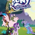 "The most recent release of My Little Pony volumes from IDW is ""To Where And Back Again""."