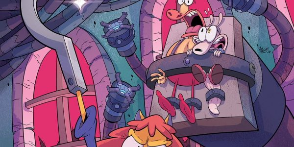 I really like this comic and this issue is the funniest yet. I forgot how clever Rocko's humour was but this issue brings it straight back to the fore as […]