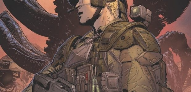 A New Aliens Story Featuring Characters from the Upcoming Game by Cold Iron Studios! Prolific Aliens writer Brian Wood (Aliens: Defiance, Sword Daughter), artist Werther Dell'Edera (Briggs Land, X-Force), colorist Michael Atiyeh […]