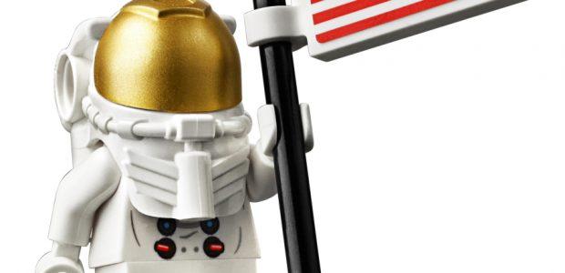 LEGO Builds Life-Sized Astronaut to Celebrate Apollo 50th Anniversary