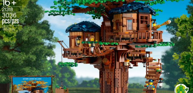 Since the LEGO Group launched its first bricks made of plant-based polyethylene last year, the sustainable bricks have increasingly been included in new LEGO sets. The Treehouse contains the highest […]