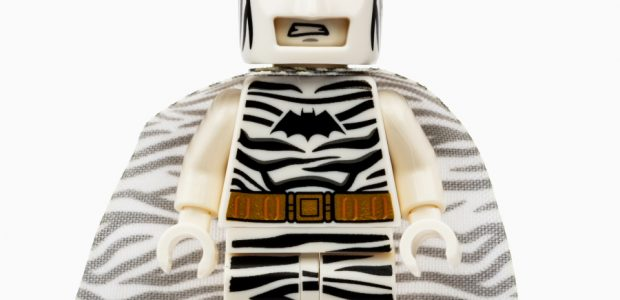 LEGO SDCC Exclusive Zebra Batman Minifigure