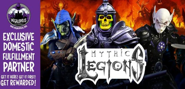 Online Collectibles retailer Megalopolis​ announced today from San Diego Comic-Con the launch of its new exclusive domestic fulfillment partnership with Four Horsemen Studios for Mythic Legions, which is credited as […]