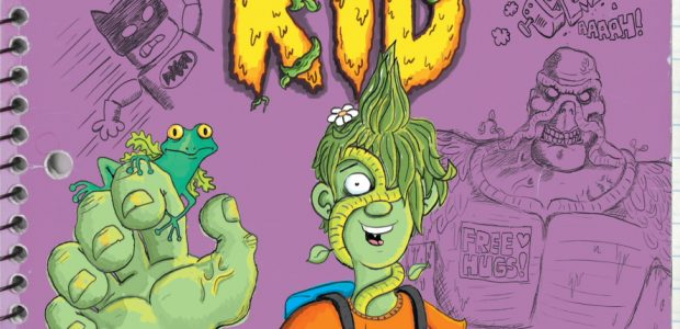 How to Draw SwampKid - Kirk Scroggs Timelapse Video