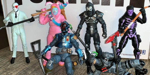 Battle Royal Is On! Jazwares Legendary Series Fortnite figures based on the Epic Games video game have hit the stores running and show no signs of stopping. The first six […]