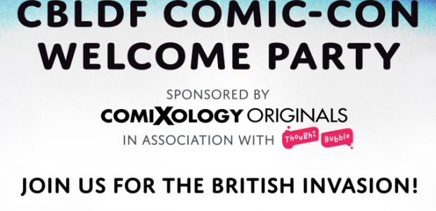 "Hosted by superstar British creators Tula Lotay & Jock With Special Guest DJ Kieron Gillen and friends. ""BRITISH INVASION"" theme brought to you by Thought Bubble Party is open to […]"