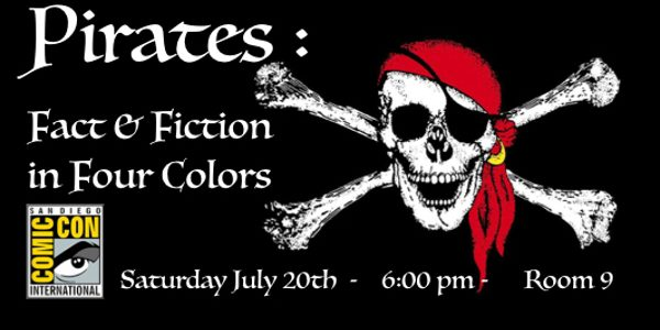 Fact and Fiction in Four Colors explores Pirates in Pop Culture & Comics On the coast of West Ireland in the 1560s, a fierce female pirate poured hot lead over […]