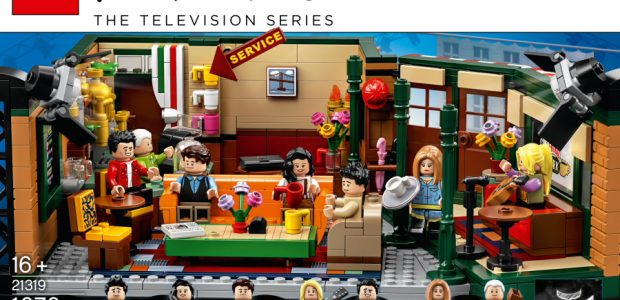 The LEGO Group is bringing the legendary TV sitcom Friends to life in brick form to mark the show's 25th anniversary with the new LEGO® Ideas Central Perk set.  Available […]
