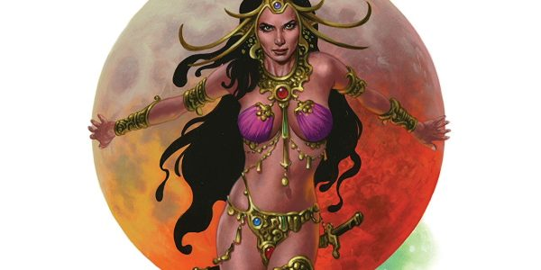 The Art of Dejah Thoris and The World Of Mars, from Dynamite, is a large collection of full-page illustrations. It's Volume Two of the title, and is divided into three […]