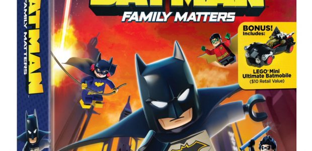 "Check out the latest clip from ""LEGO DC: Batman – Family Matters"" ""LEGO DC: Batman – Family Matters,"" arrives on Blu-ray, DVD and Digital starting tomorrow — Tuesday, August 20, […]"