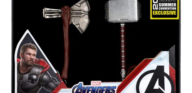 Monogram is pleased to announce a special Summer Convention exclusive they'll have for the D23 Expo this year: the Avengers Endgame Thor Hammer Pewter Key Ring Collector's Set Retail: $25.00 […]