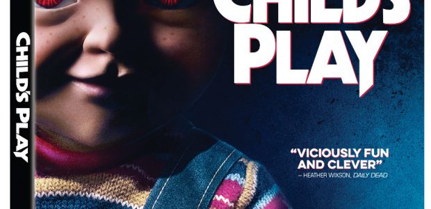 BRING HOME YOUR NEW BEST BUDDI THIS HALLOWEEN SEASON Child's Play Arrives on Blu-ray™ and DVD September 24 Get ready for childhood dreams of talking toys to go completely sideways […]