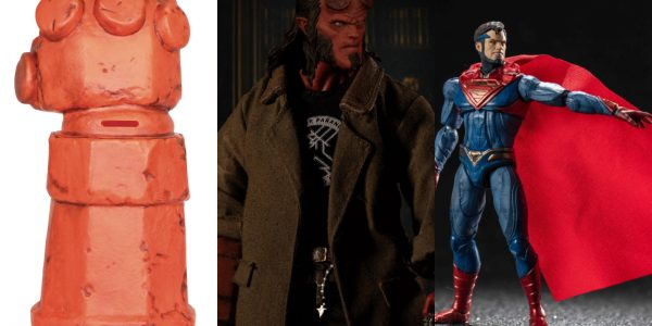 Diamond Comic Distributors has partnered with Surreal Entertainment, Hiya Toys, and Mezco Toys to bring fans an all-new range of PREVIEWS Exclusive collectibles featuring Hellboy and Superman. Surreal Entertainment will […]
