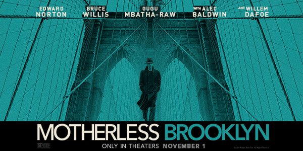Warner Brothers Pictures has released the trailer for Motherless Brooklyn! MOTHERLESS BROOKLYN                                                                 In theaters on November 1 (Warner Bros. Pictures)   Director:        Edward Norton Writer:           Edward Norton, from the novel […]