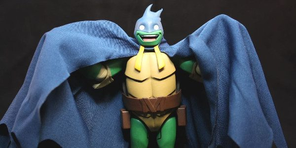 This year at Comic-Con, DC Collectibles gave us an action figure from the animated feature Batman vs. Teenage Mutant Ninja Turtles! Mikey dressed up as Batman! The Batman vs. Teenage […]