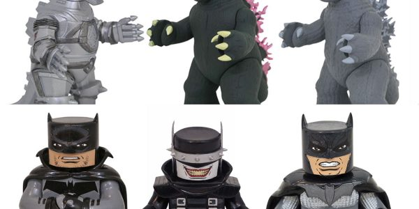 Viva Vinimates! The vinyl figure line sees four new releases this week, with another installment in Godzilla Vinimates Series 1, plus the three Batmen of DC Comic Vinimates Series 6! […]