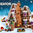 The LEGO Creator Expert Gingerbread House is the 10th product in the Winter Village product range – and possibly the sweetest yet. 😊
