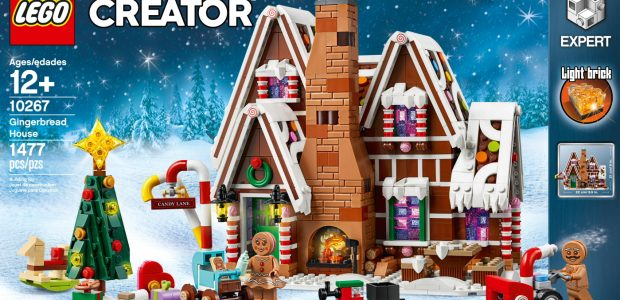The LEGO Creator Expert Gingerbread House is the 10th product in the Winter Village product range – and possibly the sweetest yet. 😊 The 1,477 piece model is filled with […]