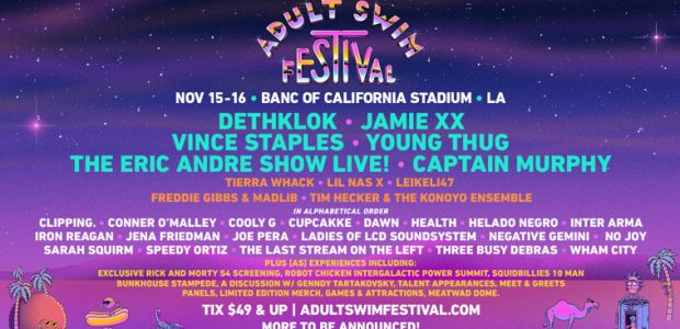 Helado Negro, Ladies of LCD Soundsystem, The Last Stream on the Left and Leikeli47 Join Electric Music and Comedy Lineup The Adult Swim Festival just got bigger! The super-sized two-day event is […]