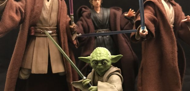 S.H. Figuarts has gone all around the Skywalker Saga with their action figure collection. With Yoda, they found a way to incorporate the prequels and the original trilogy in one […]