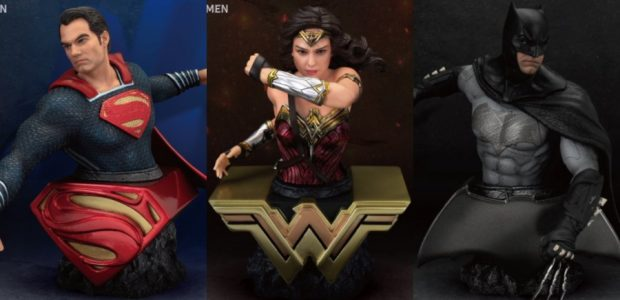 Diamond Comic Distributors and Beast Kingdom have partnered to offer fans a new line of high quality, collectible Action Busts. The first installment focuses on the Justice League, giving collectors […]