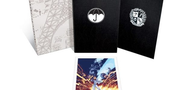 """""""Umbrella Academy Volume 1: Apocalypse Suite Deluxe Edition"""" Available in March 2020 Dark Horse is givingThe Umbrella Academyfans an exciting new collectible for their bookshelves with a new line of […]"""