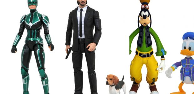 It's a zoo this week at your local comic shop! Three new, hotly anticipated Select action figures hit stores today, and they all feature animal friends! John Wick arrives in […]