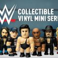 Step into the ring with the new WWE 3-inch Vinyl Mini Series Available Now at Kidrobot.com