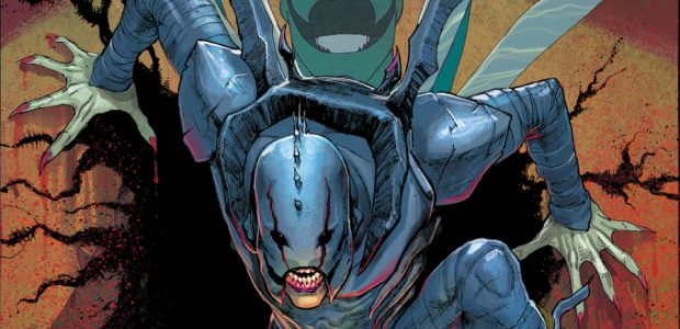 """""""Metamorphosis"""" The spread of The Infected continues! After a chance encounter with a powerful mystical entity known as The Scarab, teenager Jaime Reyes was transformed into a reluctant warrior for […]"""