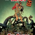 It's Halloween of course, and the perfect time for Dynamite to release a Halloween Special: a stand-alone story of Red Sonja's early days. It's Savage Tales Red Sonja.