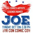 Legendary Artists Joe Sinnott & Joe Jusko at Syra Con