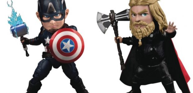 Captain America and Thor from Avengers: Endgame Suit Up as PREVIEWS Exclusive Action Figures In Marvel Studios' record-breaking film, Avengers: Endgame, Earth's Mightiest Heroes take the fight to Thanos to […]