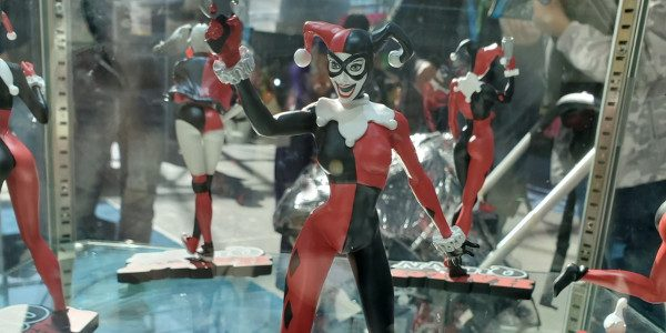Jim Fletcher, executive creative director of DC Collectibles, showed off some new stuff he brought to New York Comic Con