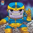 Colossal 6″ PREVIEWS Exclusive Thanos Deluxe Pop! Snaps into Comic Shops