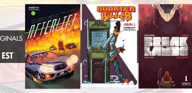 Let the season of shopping continue! ComiXology is celebrating ComiXology Originals' with the following Black Friday/Cyber Monday digital comic, graphic novel, and manga sale running Tuesday, November 19 through Thursday, […]
