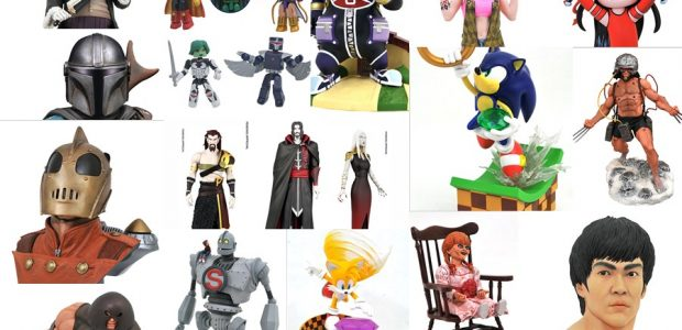 A new issue of Previews is almost in stores, and a new batch of products is now up for pre-order from Diamond Select Toys! The new line-up includes action figures […]
