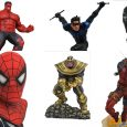 Six new collectibles are shipping to comic shops this week, and Diamond Select Toys is fully responsible!
