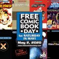 This year's Gold Sponsor lineup features a free comic for every fan imaginable