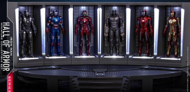 In response to the increasing number of high-tech armors, Tony Stark has specially built a ground breaking secret base with compartments in his mansion for suit storage. Based on the […]