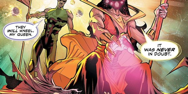 It's part 8 of the Justice /Doom War, and for all intents and purposes, it is a literal war as all of the heroes and all of the villains from […]