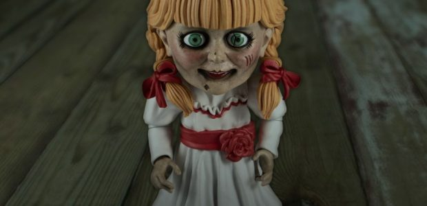An evil spirit has been unleashed on the Mezco Designer Series…and her name is Annabelle. The MDS Annabelle is a super-D take on the haunted doll. She comes complete with […]