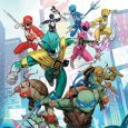 BOOM! Studios and IDW Comics brings you a serious crossover comic between our childhood heroes in Mighty Morphin Power Rangers and Teenage Mutant Ninja Turtles on its first issue.